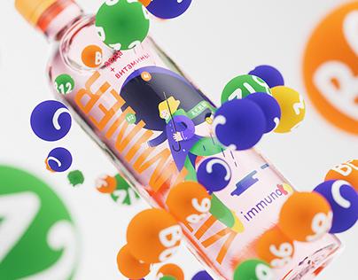 Vitaminer Water Packaging