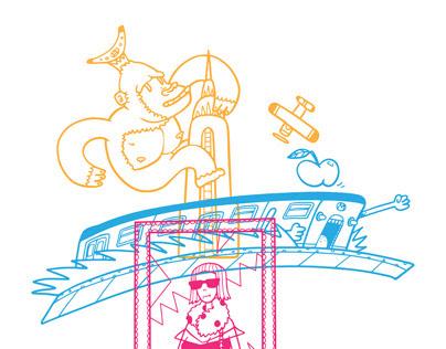 Funky Characters (Tadang studio)