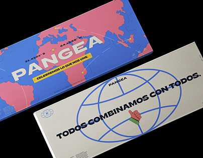 PANGEA · Clothing Branding