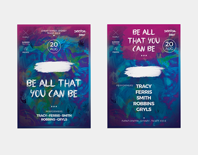 Be All That You Can Be Flyer | Poster Template