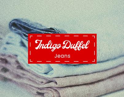 Indigo Duffel Jeans
