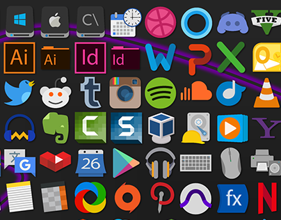 Simply Styled Icon Set - 731 Icons