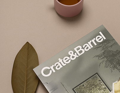 Crate&Barrel + Revista Hoja Santa