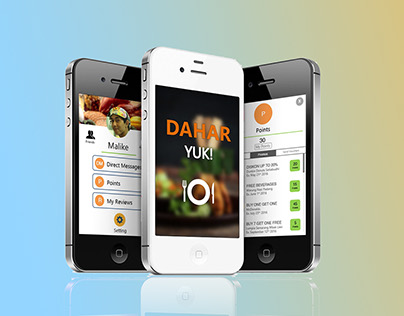 DAHAR YUK (Food Finding Apps)