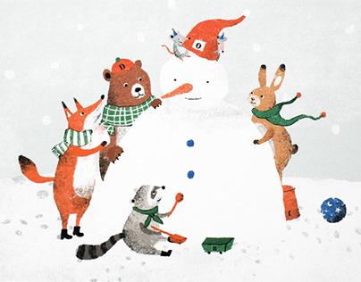 2014勤美天地聖誕村 明信片