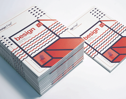 """Besign Fest """"booket"""" Program & guide."""
