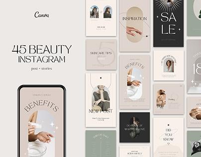 Beauty Instagram Templates