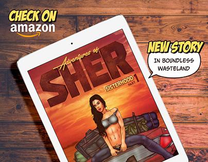 Graphic novel. Adventures of Sher. Part 1. Sisterhood