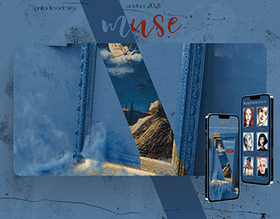 landing page MUSE