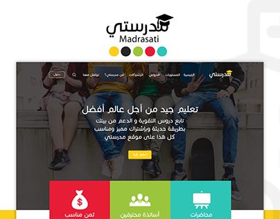 Madrasati Website Design UX/UI