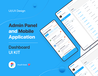 Admin Panel Dashboard UI Kit