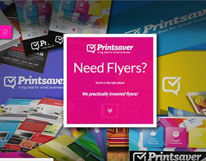 Printsaver Brand & Website Concept