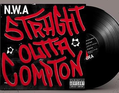 Vinilo / NWA - Straight outta compton