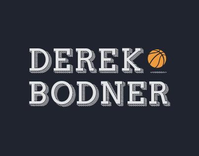 Derek Bodner's Logo -- NBA Writer
