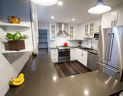 Current Work - Row Home Kitchen & Bath Remodel