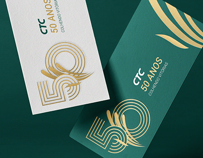 Selo Comemorativo 50 anos CTC