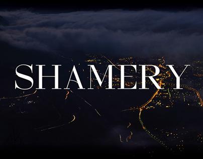 SHAMERY - FREE MODERN SERIF FONT