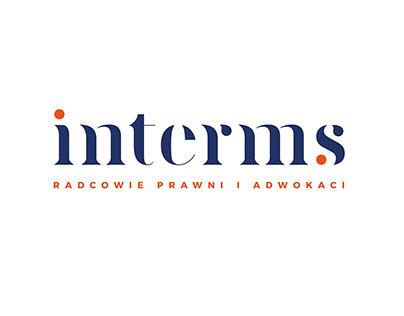 inTerms - Brand visual identity and webdesign