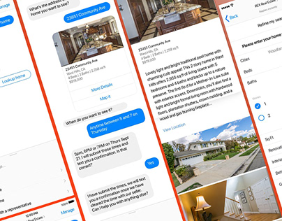 REX Real Estate : Facebook chatbot