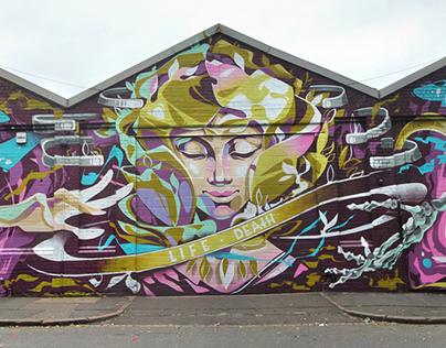 """Life & Death"".Birmingham, UK."