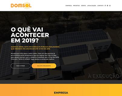 Website Domsol