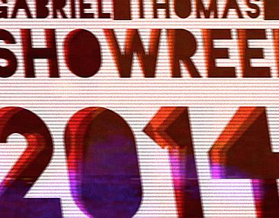 Showreel 2014