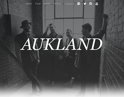 Aukland Website (May 2015)
