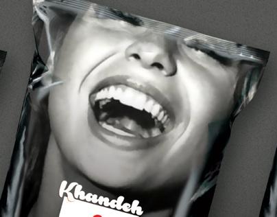 Khande snack packaging (Smile)