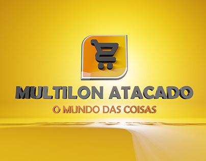 Logo 3D Multilon Atacado