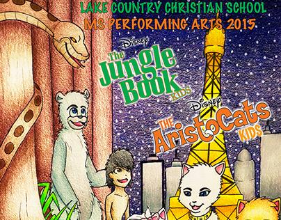 Jungle Book & Aristocats Kids
