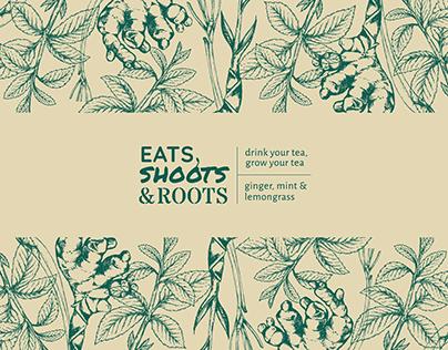 EATS, SHOOTS, ROOTS | Tea Packaging