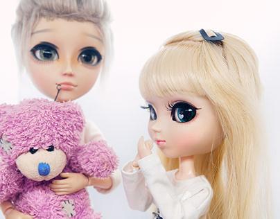 Dolls love photoshoot