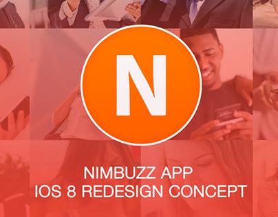 Nimbuzz App Redesign Ios 8