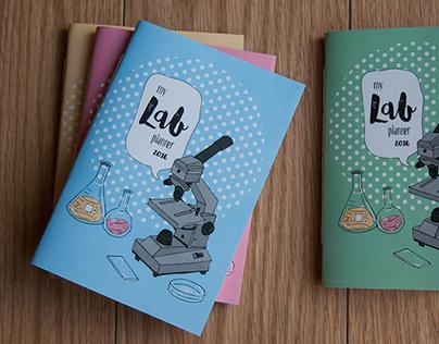 My Lab Planner | Illustration + Design