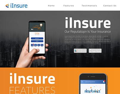 Insurance Concept Landing Page