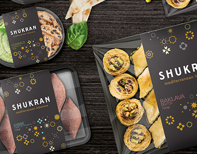 Lebanese food packaging