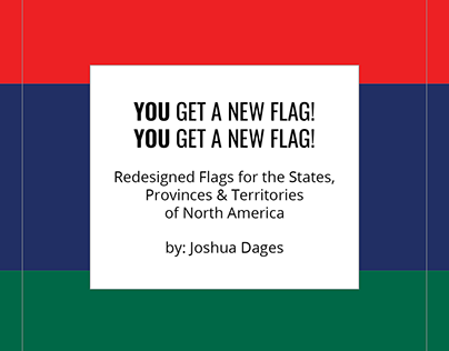 Redesigned Flags of North America