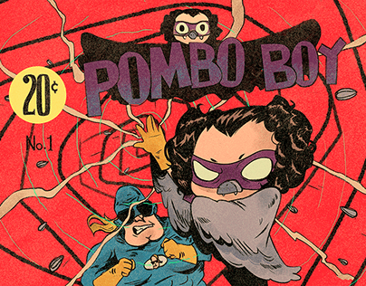 "Title card Irmão do Jorel ""Pombo Boy""/ Cartoon Network"