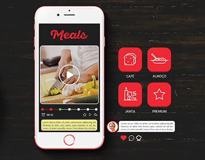 Projeto Aplicativo de cozinhar Meals