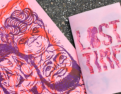 Lost Time Risograph Zine - Society6