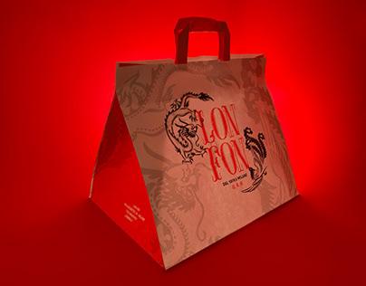 LON FON restaurant - logo and brand identity
