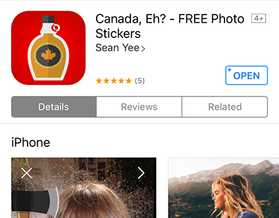Canada, Eh? iOS App