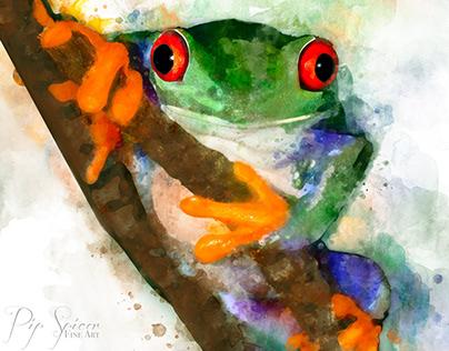 Kermit in Watercolour
