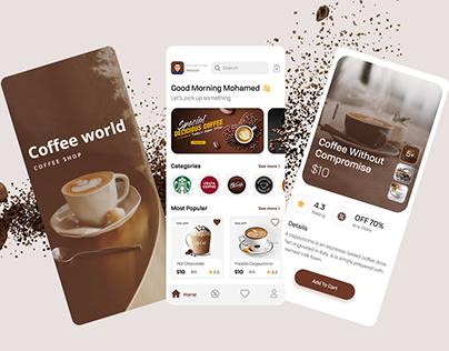 On Demand Coffee App