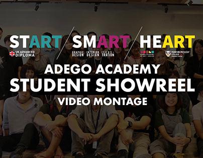 ADEGO ACADEMY Student Showreel Montage