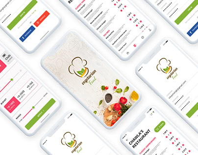 New Food App Ui Design Concept