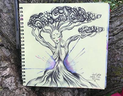 arbol, vida, tierra y amor