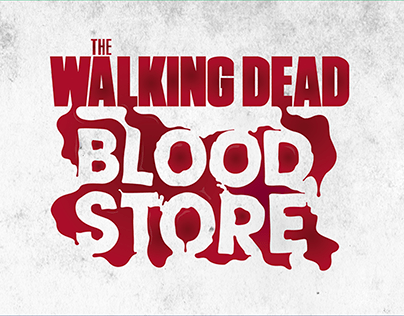 TWD Blood Store — Brand Activation