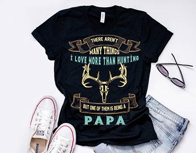 Deer Hunting T-Shirt Design