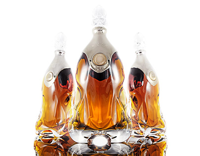 Crystal Glass Decanter I. for ACC